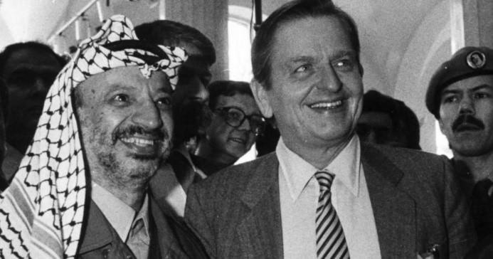 سيرة أولوف بالمه  1927 – 1986  ودوره في القضية الفلسطينية