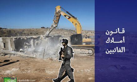 الموقف الإسرائيلي من مبدأ التعويضات عن أملاك اللاجئين الفلسطينيين