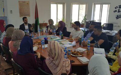 مركز الأبحاث في منظمة التحرير يستقبل وفداً شبابياً من الجامعات
