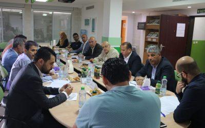 """طاولة مستديرة مغلقة: """"المنطقة الشرقية: التحديات وسبل تعزيز الصمود"""""""