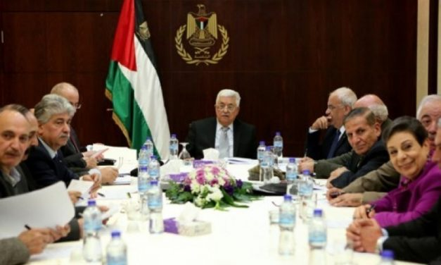 اجتماعات وبيانات صادرة عن اللجنة التنفيذية لمنظمة التحرير الفلسطينية