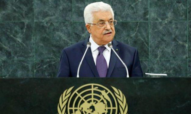 خطة السلام التي عرضها الرئيس محمود عباس أمام مجلس الأمن 20 شباط/ 2018