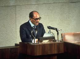 خطاب محمد أنور السادات في الكنيست الإسرائيل 1977/11/20