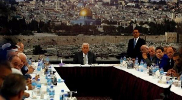 اجتماعات وبيانات صادرة عن القيادة الفلسطينية