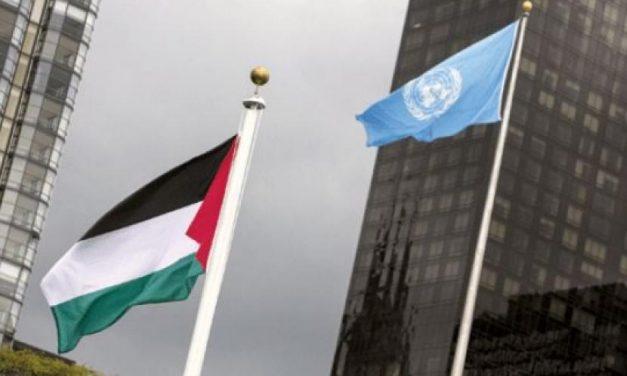 قرارات الجمعية العامة بشأن رفع العلم الفلسطيني فوق مقرات هيئة الأمم المتحدة 2015