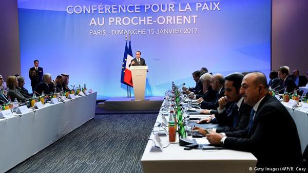 البيان الختامي لمؤتمر باريس 15 كانون الثاني 2017