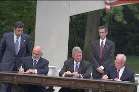 """معاهدة السلام الأردنية – الإسرائيلية """"وادي عربة"""" 26/10/1994"""