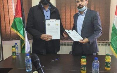 توقيع اتفاقية تعاون بين مركز الأبحاث ونقابة الصحفيين الفلسطينيين